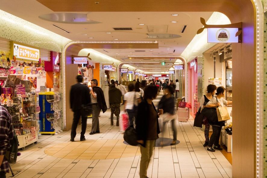東京駅一番街 東京キャラクターストリート