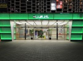 New Shimbashi Building  Entrance