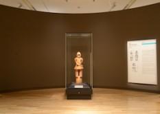 東京国立博物館 平成館考古展示室 「国宝 埴輪 挂甲の武人」