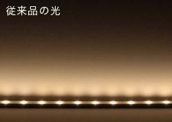 LEDが15mm間隔になり、より美しい光を実現