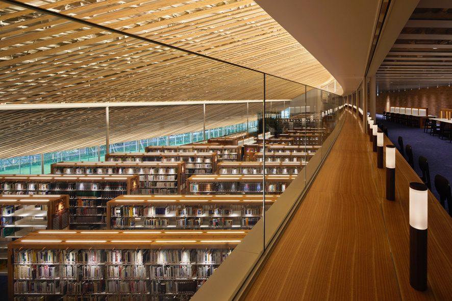 ミライon図書館(長崎県立長崎図書館及び大村市立図書館)