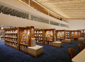 Mirai on Library(NAGASAKI PREF. & OMURA CITY LIBRARY)