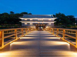 Kanazawa Castle Park  Nezumitamon Bridge ・ Kenrokuen  Renchimon St. waterway